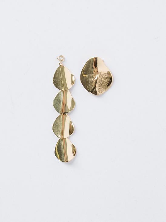Molded Organic Hinge Earring