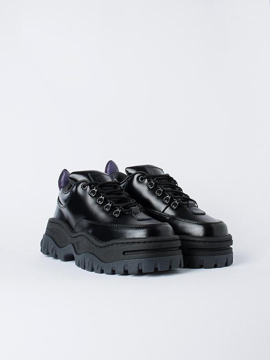 Angel Leather Black