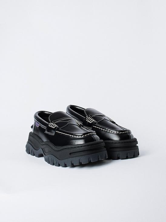 Angelo Leather Black