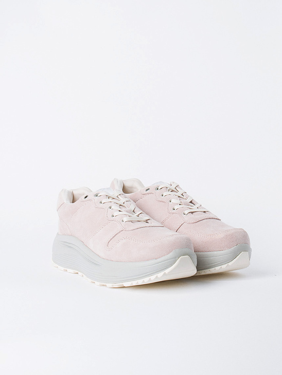 Jet Combo Suede Powder Pink M