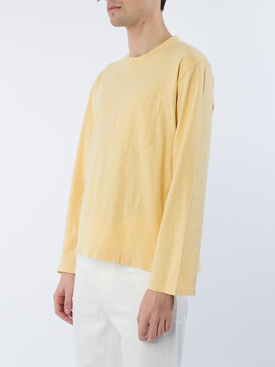 Box Longsleeve Sun Yellow
