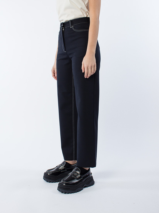 APLACE Althea Trousers - Wood Wood