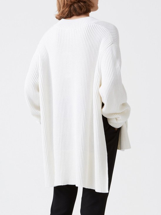Moon Sweater White