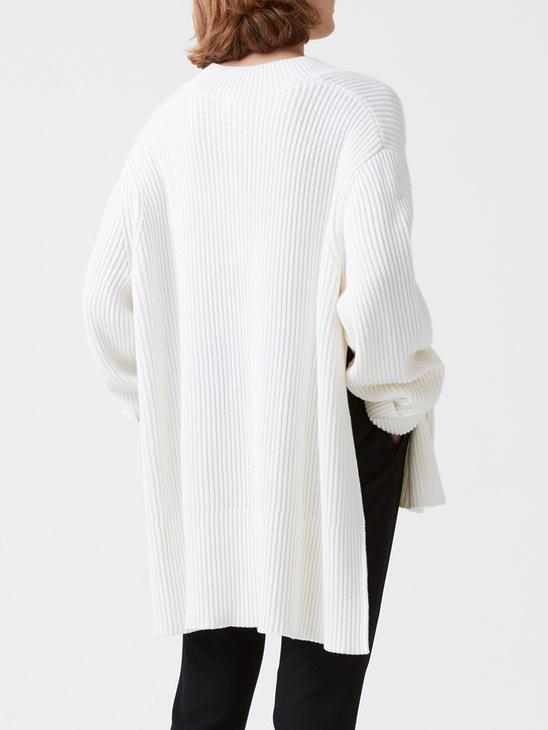Moon Sweater White