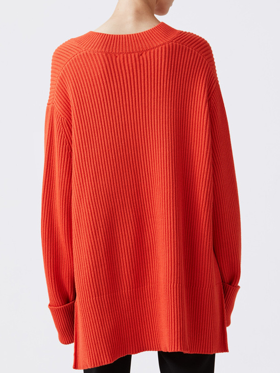 Moon Sweater Tangerine
