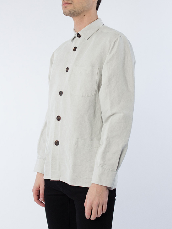 Overshirt Linen Mix One