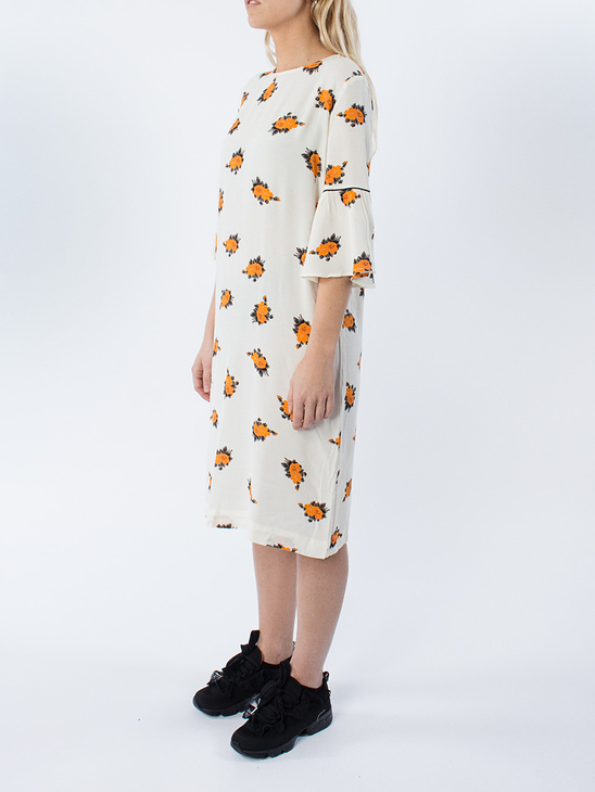 Roseburg Crepe Dress