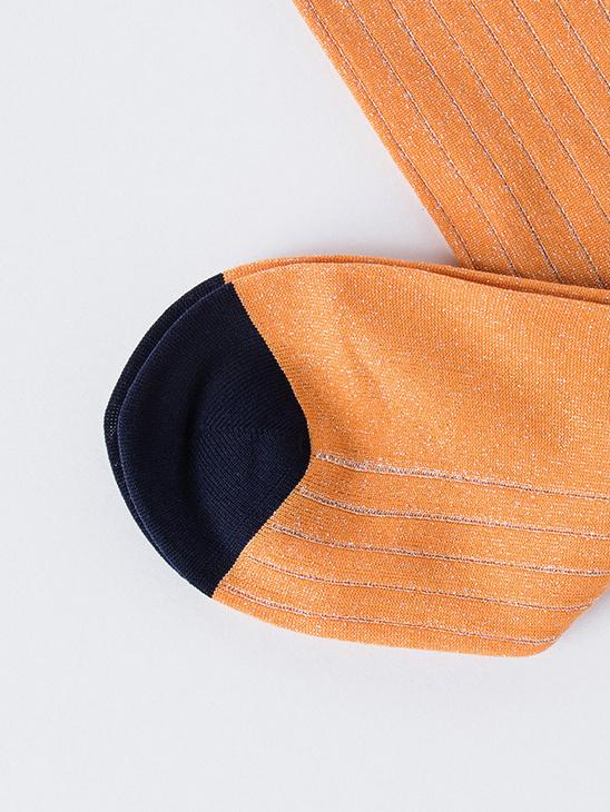 Classon Rib Turmeric Orange