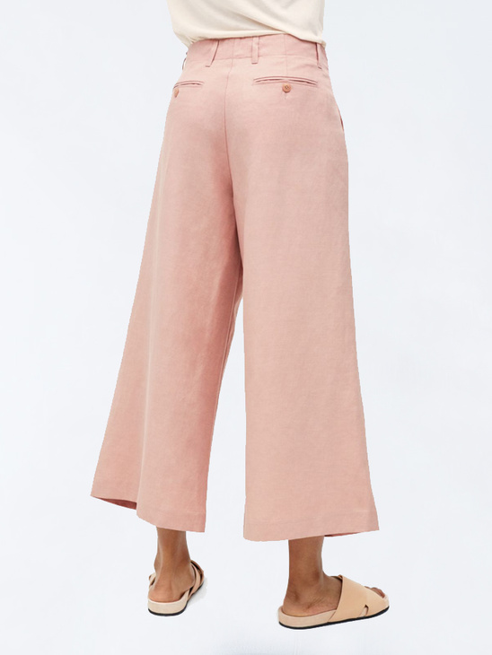Max Cropped Wide Trousers