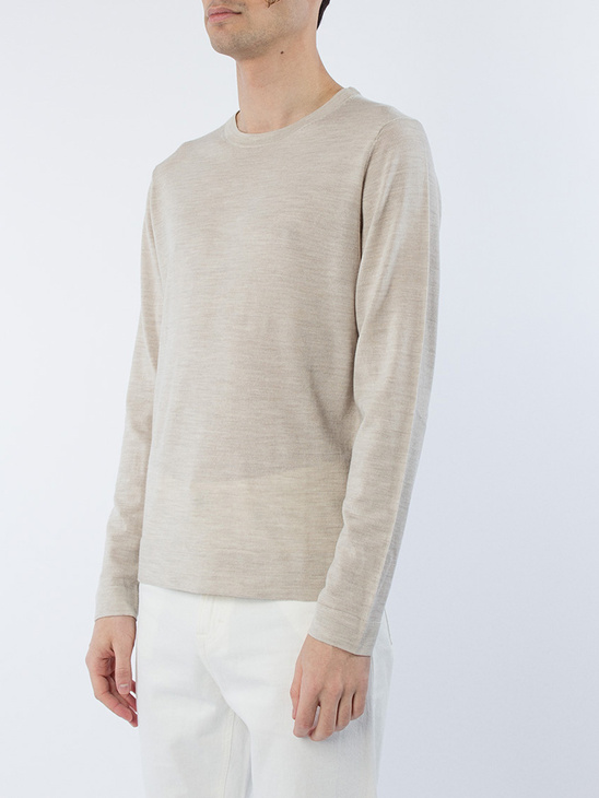 M. Fine Merino R-Neck Sweater