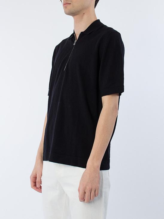 M. Knitted Poloshirt
