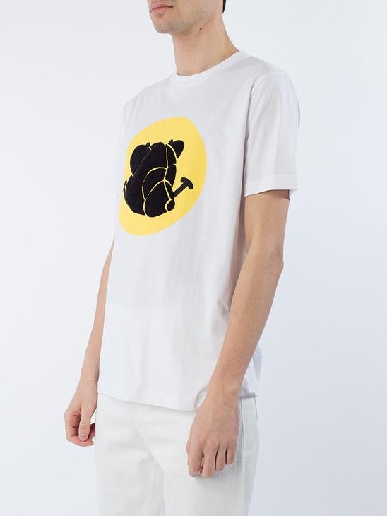T-Shirt w/print White