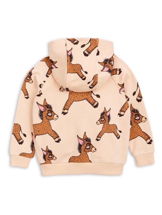 Donkey aop zip hoodie
