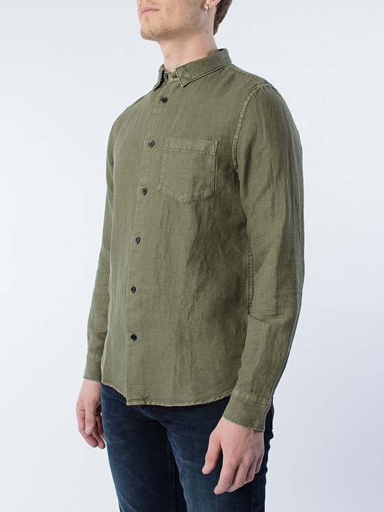Drill Cotton Shirt Military