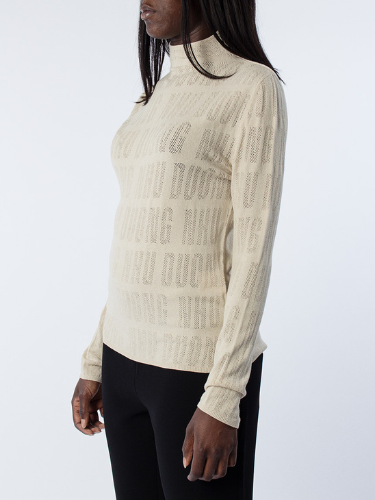 Abe High Collar Long Sleeve