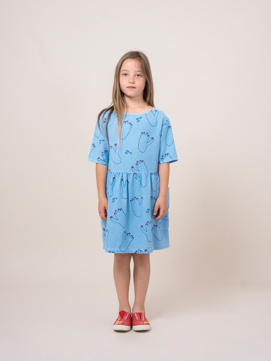 Footprint Pocket Dress