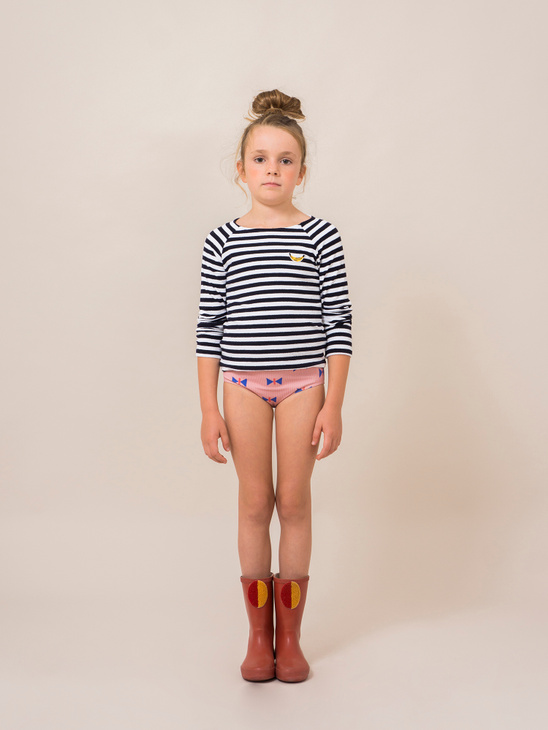 Breton Stripes SwimTop