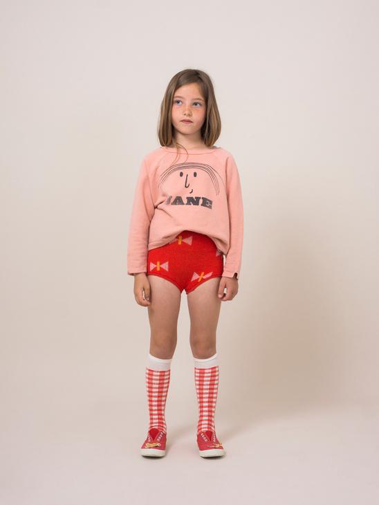 Red Vichy Socks
