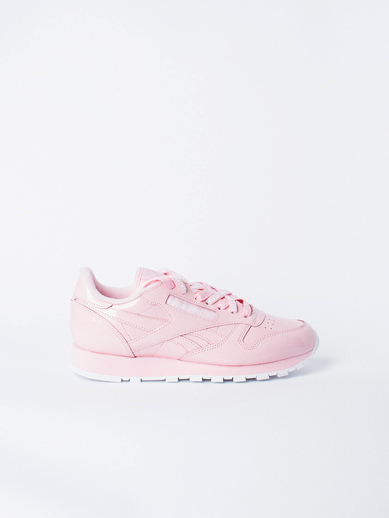 APLACE Cl Leather OC Pink Glow - Reebok