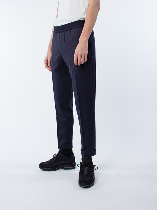 M. Terry Gabardine Cropped Trousers