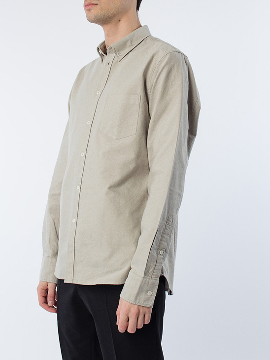 M. Paul Oxford Shirt Coin/olive