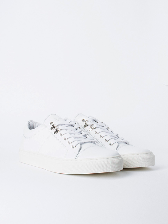 Leather Sneak Madson White
