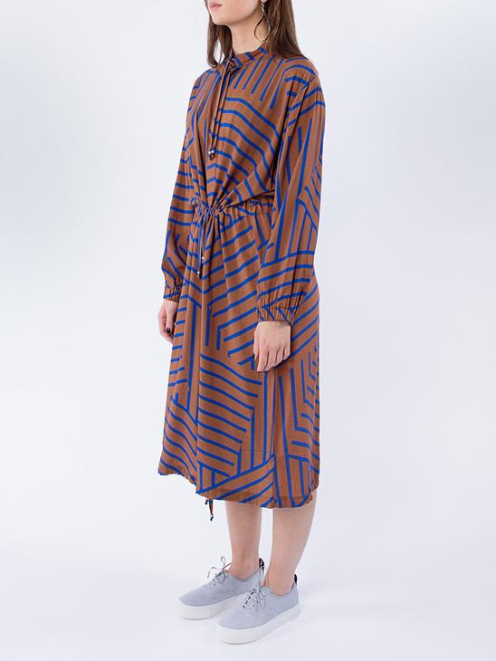 Viscose Stripe Sacca Cuff