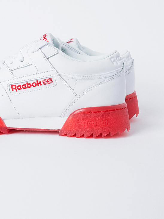 APLACE Workout Clean Ripple Ice W/Red - Reebok