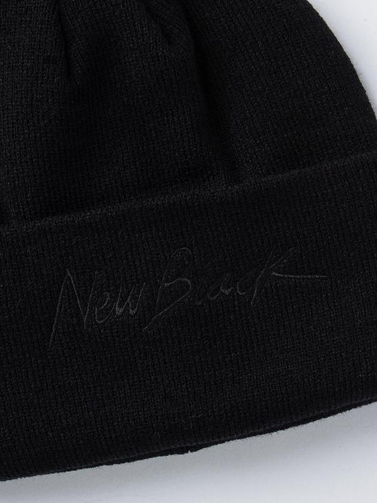 Signature Beanie Black