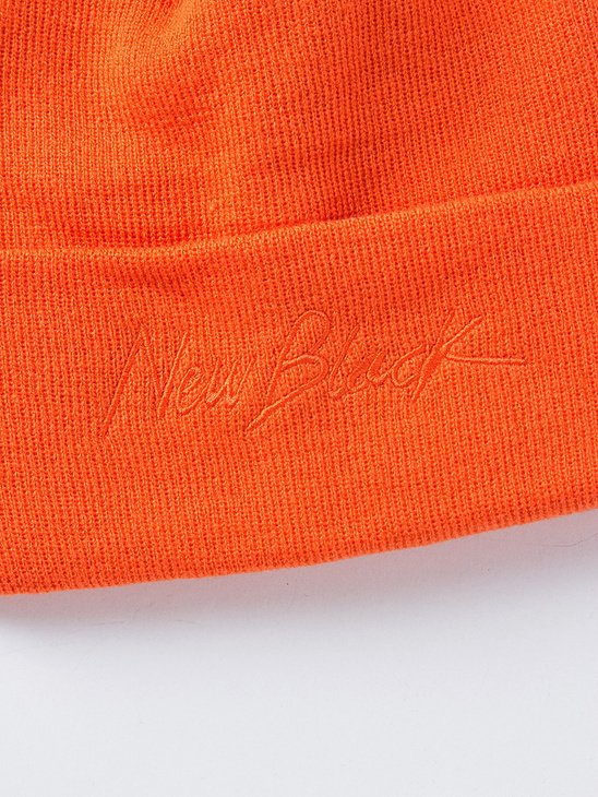 Signature Beanie Orange