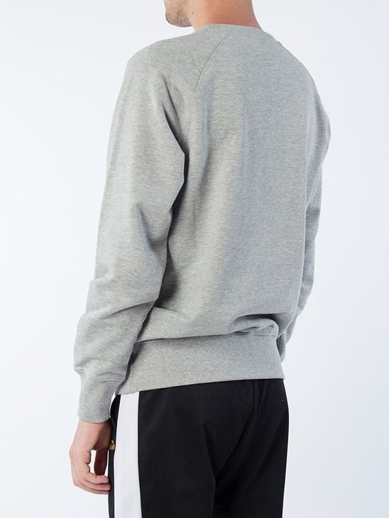 Sweatshirt Crew 5 P Light Grey