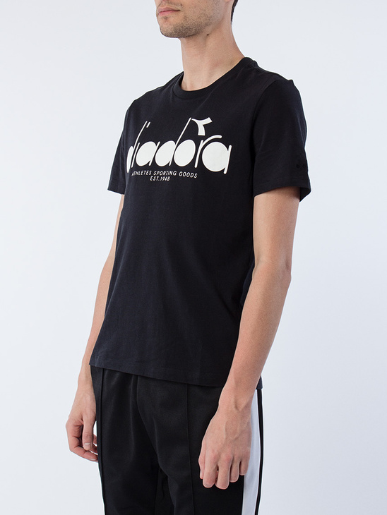 T-Shirt Black / Optical White