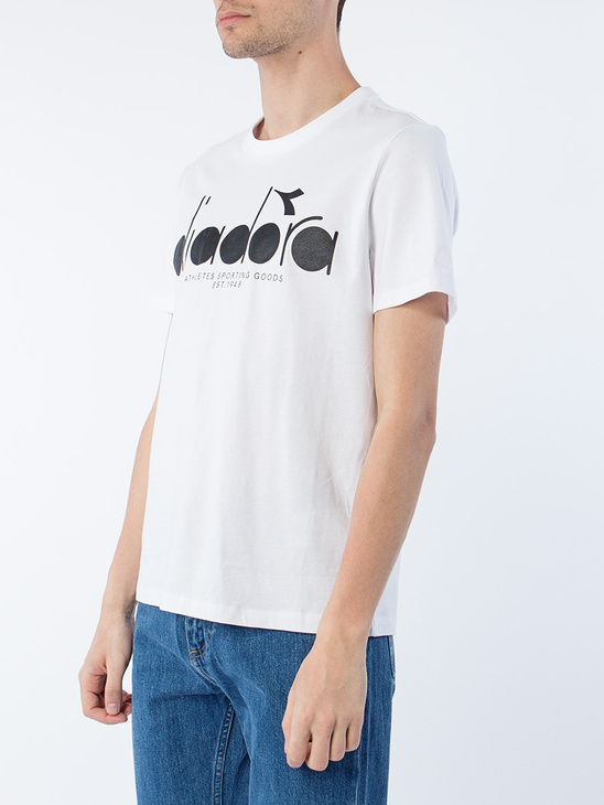 T-Shirt White Big Logo