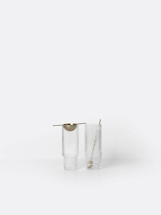 Ripple Long Glass (set of 4)