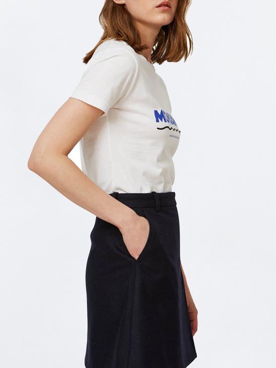 Eden T-Shirt Bright White
