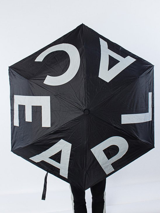 Aplace Umbrella Black