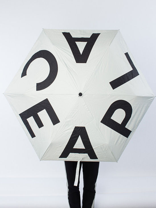 Aplace Umbrella White