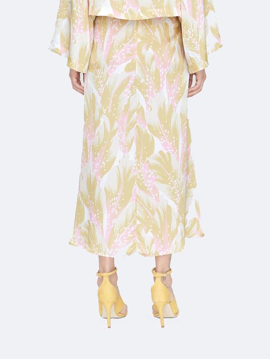 Cati Seaflower Skirt L Ochre