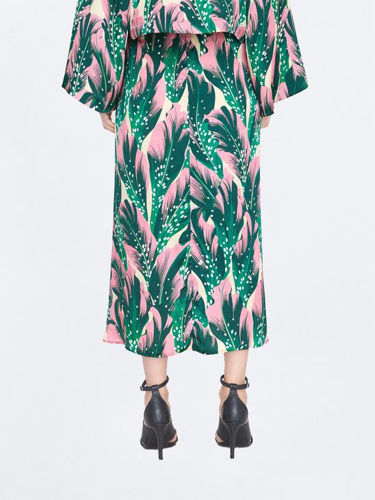 Cati Seaflower Skirt F Green