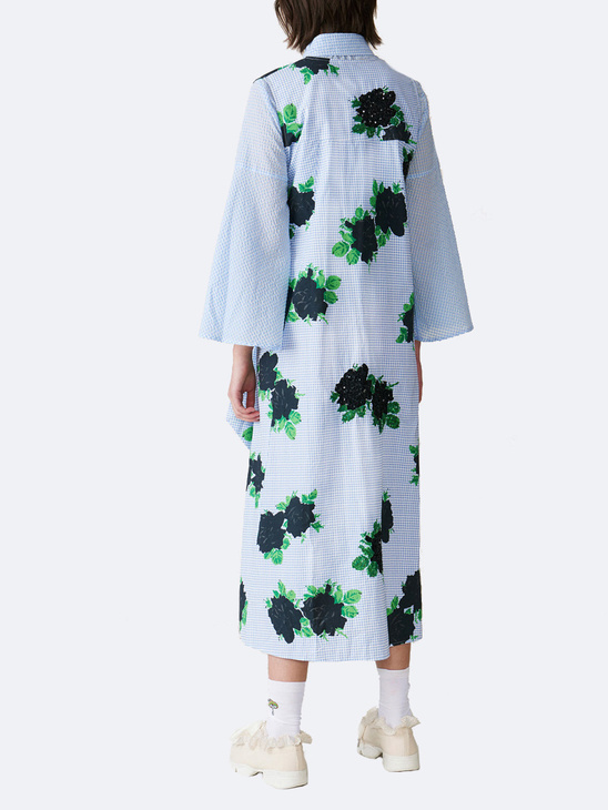 Pine Dress S Blue