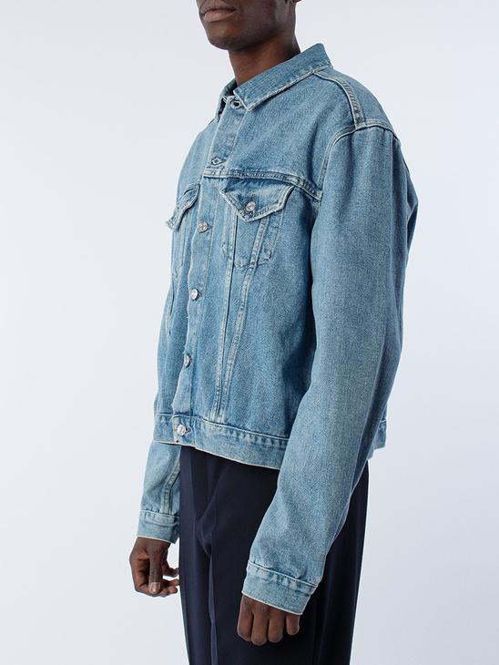 Mudride Jacket Blue Rayon