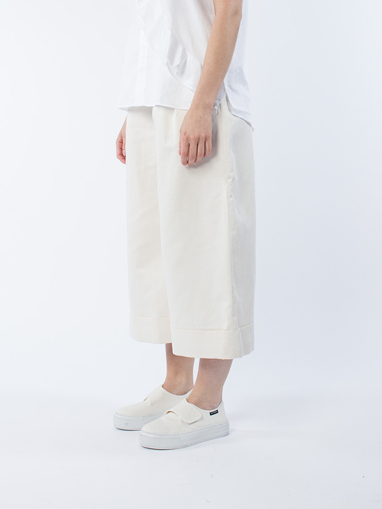 Far Trouser Off White