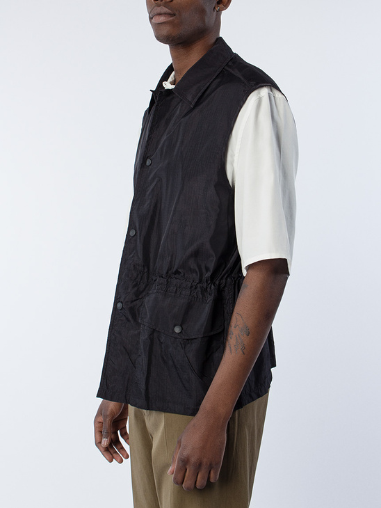 Puff Pocket Shirt Vest