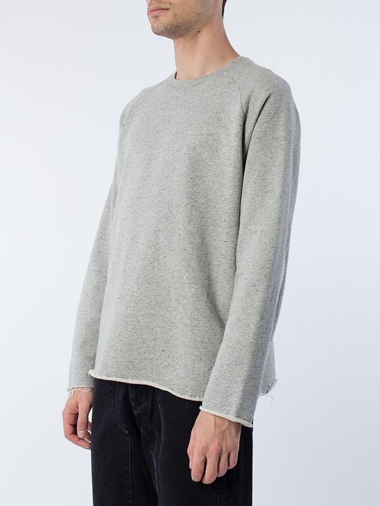 Grey Mel. Sweatshirt