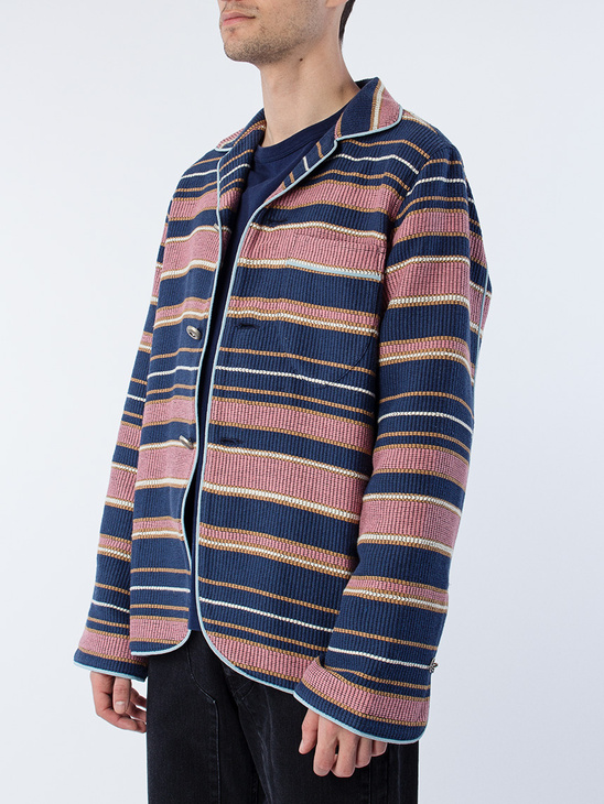 Overshirt Blue Striped