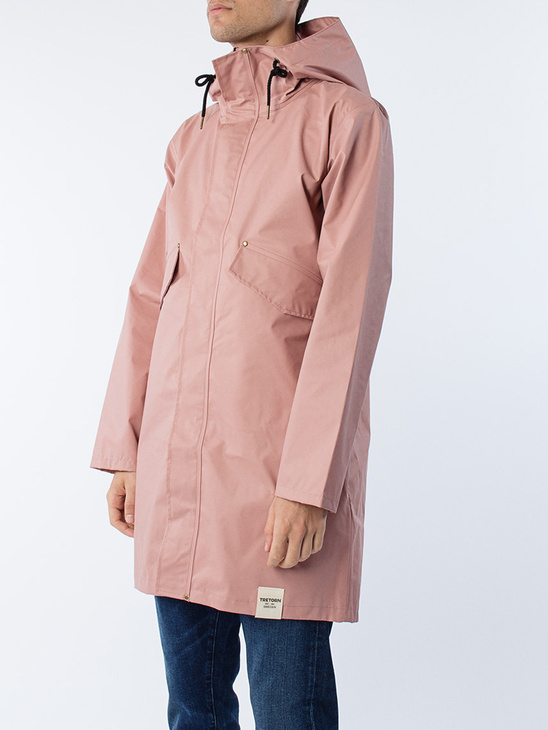 PU Parka Dusty Pink