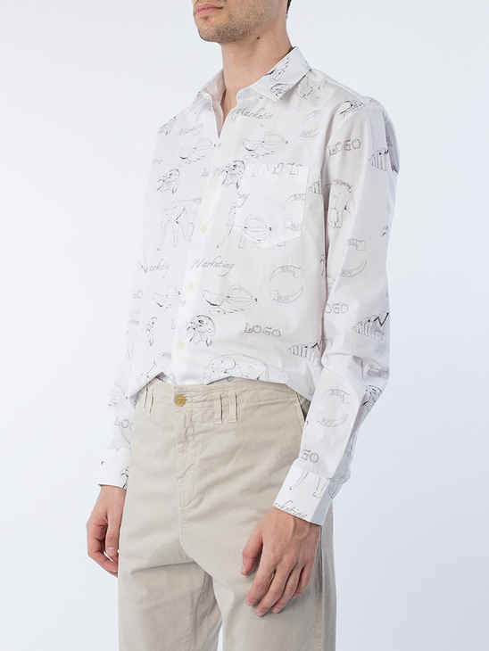 Schoggo All Over Printed Shirt