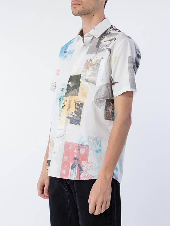 Sjack All Over Printed Shirt