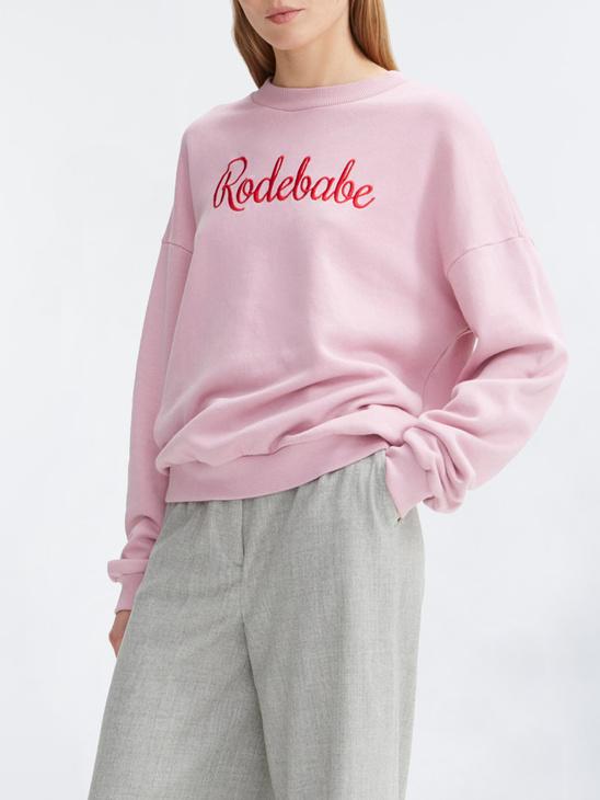00d0e297a70b Rodebjer Rodebabe Sweatshirt Cold Pink ...