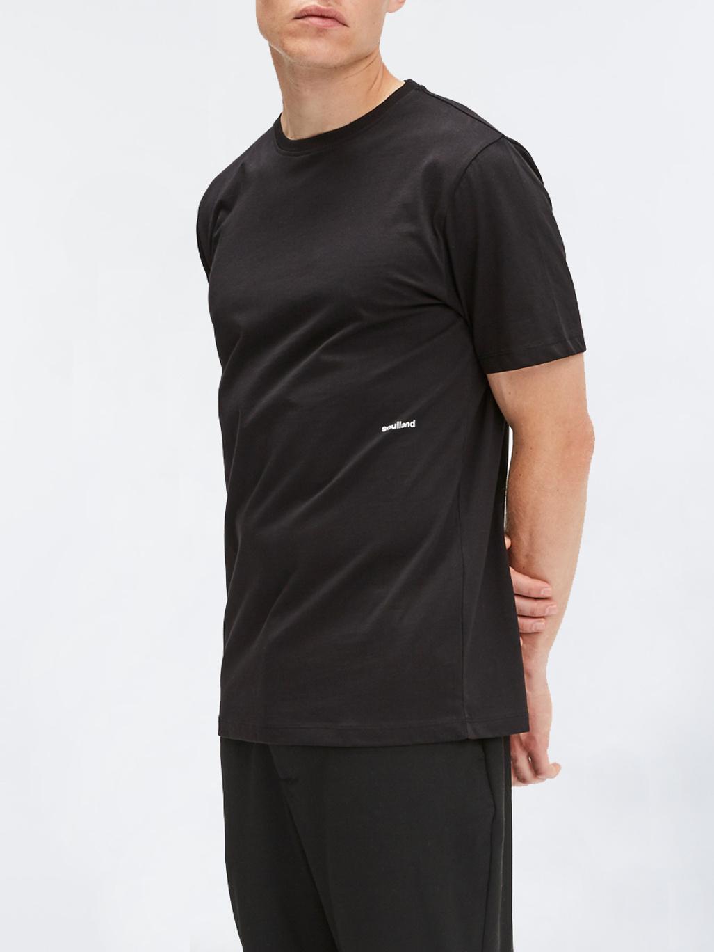 af3b89677896 Logic Coffey T-Shirt Black - Soulland